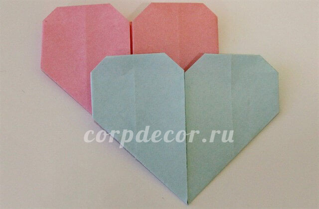 сердце, сердце из бумаги