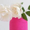 ваза из ниток