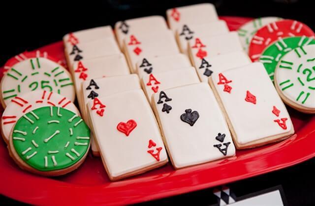 печенье игральные карты