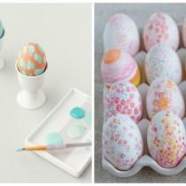 рисунки на яйцах красками