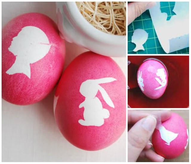 украшение яиц к пасхе своими руками фото