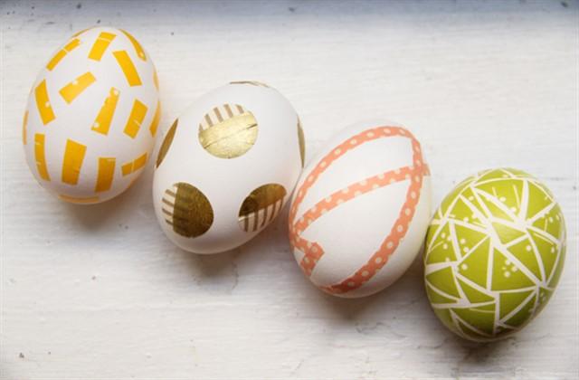 оригинальные яйца на пасху