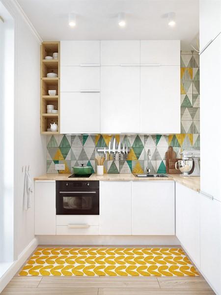 дизайн маленькой кухни фото 2016 современные идеи