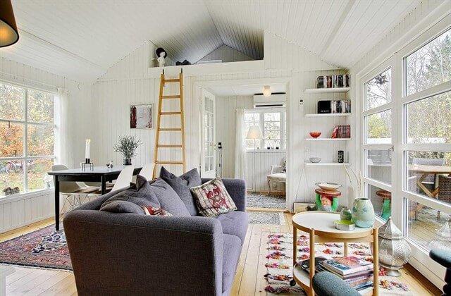 загородный дом планировка и дизайн интерьера фото