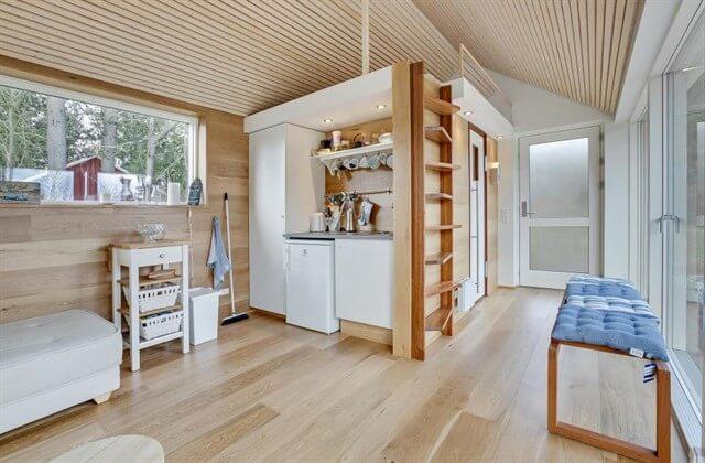 скандинавский стиль в интерьере загородного дома