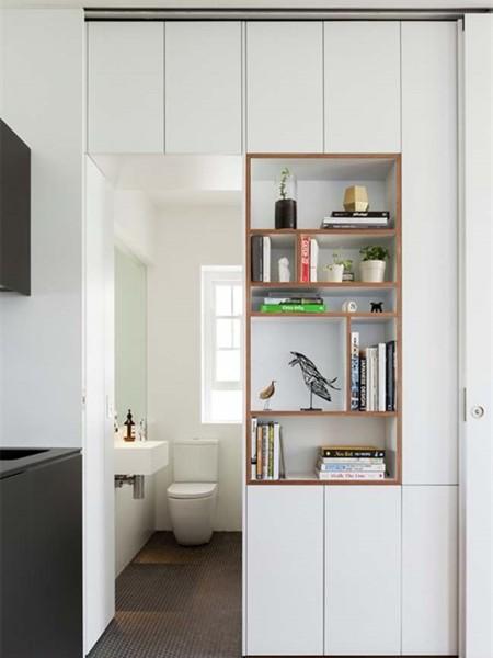 дизайн квартиры студии 30 кв.м фото как ограничить спальню от кухни