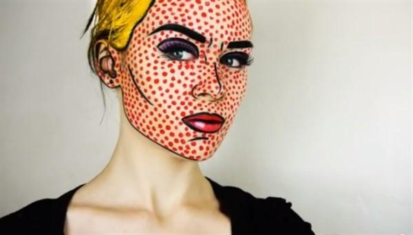 как разукрасить лицо на хэллоуин