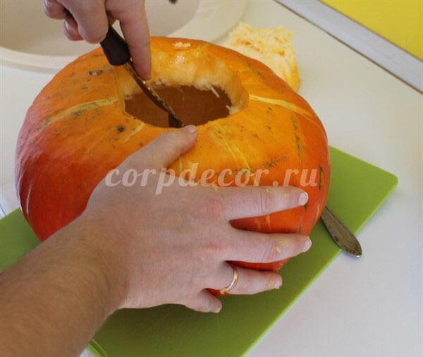 страшные поделки из тыквы на хэллоуин