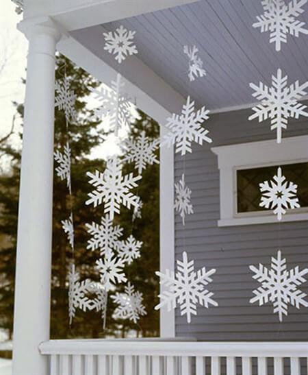 гирлянды на новый год своими руками для украшения комнаты
