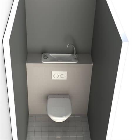 дизайн туалета маленького размера в панельном доме фото