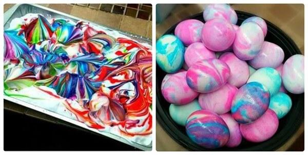 как разукрасить яйца на Пасху своими руками