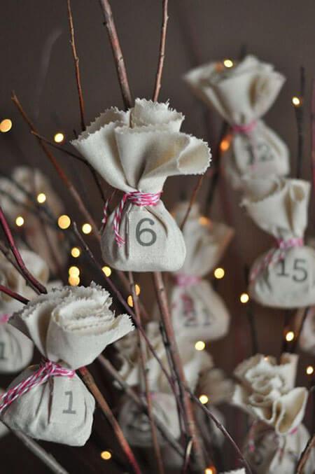 идеи для адвент календаря